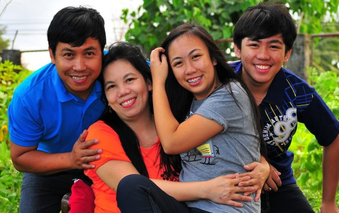 pastor resty umali and family